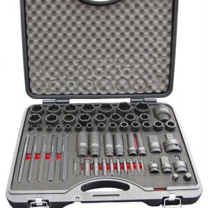 Krafthylssats 6-36 mm Tecos 58 delar