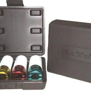 Krafthylssats m/plast 4 delar