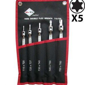 Lednyckelsats dubbel TX15-TX60