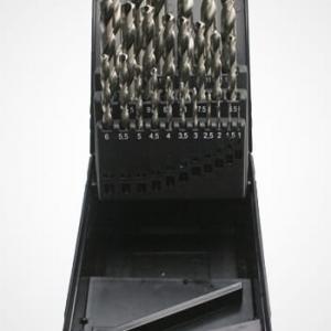 Borrsats 1-13 mm Hss-G 25 delar