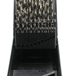 Borrsats vänstergående 1-13 mm