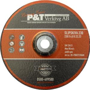 P&T Slipskiva180 x 6 x 22