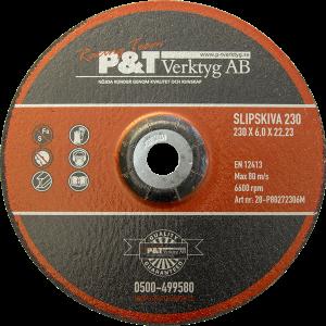 P&T Slipskiva 230 x 6