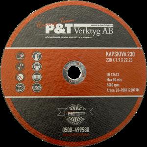 P&T Kapskiva S 230 x 1