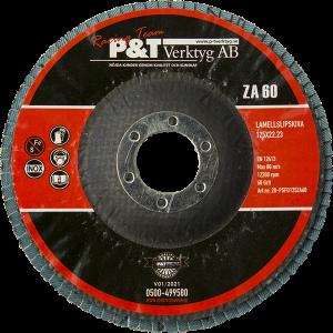 P&T Lamellslipskiva  40 KORN 125 x 22