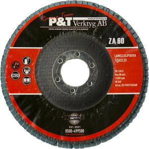 P&T Lamellslipskiva  80 KORN 125 x 22