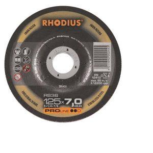 Rhodius Slipskiva RS38 125x7  25ST/FP