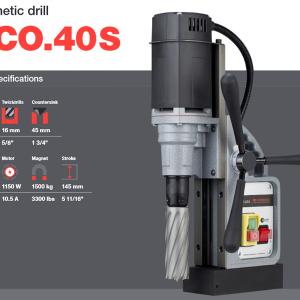 Magnetborrmaskin Euroboor ECO.40S