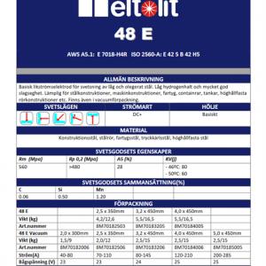 Elektrod 7016E 3.2x450mm 6kg:s Hylsa Meltolit