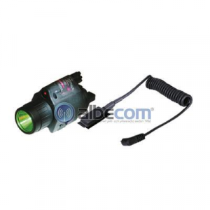 Lampa Sun Optics grön-LED / röd-laser 250lum inkl mousetail