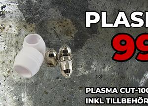 Plasmaskärare SWE-PRO 100 skärdjup 30 ink tillbeh.pkt*slut*