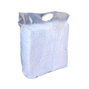 Lakansdukar Vit 100% bomull 5kg/fp