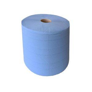Torkpapper InduWipe Blå Soft 3-lagers 750ark/rl