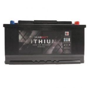 Batteri Lithium 96ah blåtand 12V